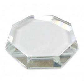 Base cristal para pestañas