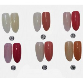 Set color gel E´Jasi (1-6)