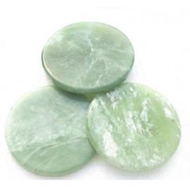 Piedra jade para pestañas