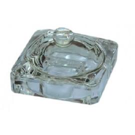 Recipiente de cristal cuadrado