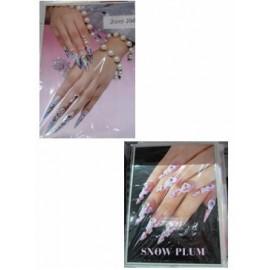 Afiches con imágenes de uñas